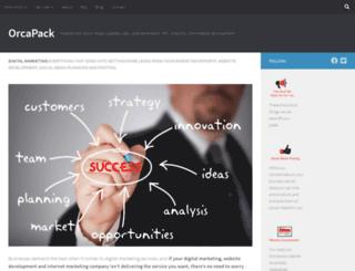 orcapack.com screenshot