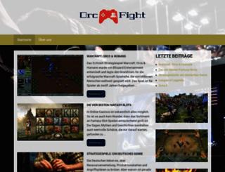 orcfight.de screenshot