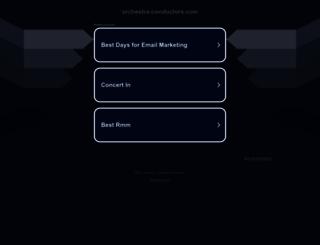 orchestra-conductors.com screenshot