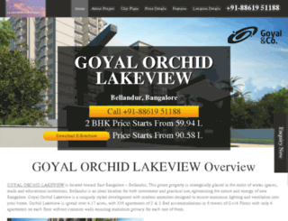orchid-lakeview.propladder.com screenshot