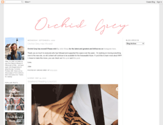 orchidgrey.blogspot.com screenshot