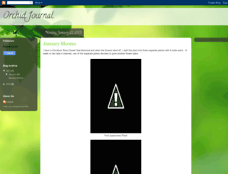 orchidjournal.blogspot.com screenshot