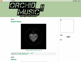 orchidmusic.blogspot.com screenshot