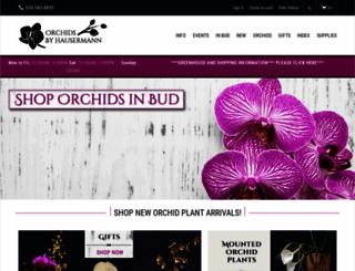 orchidsbyhausermann.com screenshot