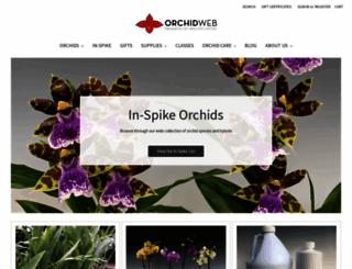 orchidweb.com screenshot
