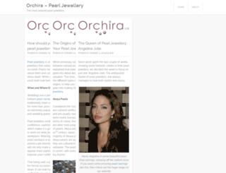 orchira.wordpress.com screenshot