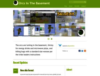 orcsinthebasement.com screenshot