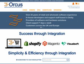 orcus.co.uk screenshot