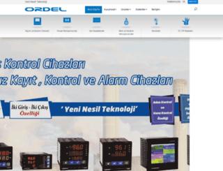 ordel.com.tr screenshot