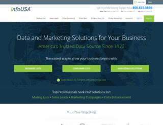 order-app.infousa.com screenshot