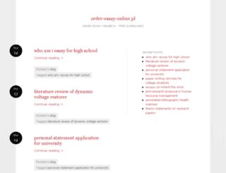 order-essay-online.pl screenshot