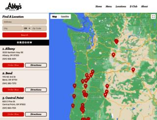 order.abbys.com screenshot