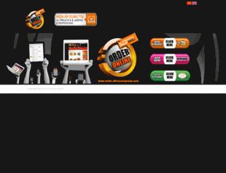 order.alfrescosgroup.com screenshot