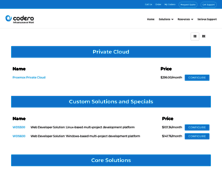 order.codero.com screenshot