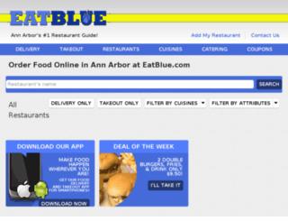 order.eatblue.com screenshot
