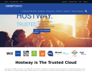 order.hostway.com screenshot