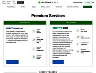 order.investorplace.com screenshot