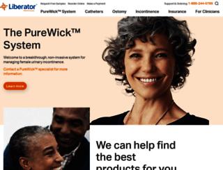order.liberatormedical.com screenshot