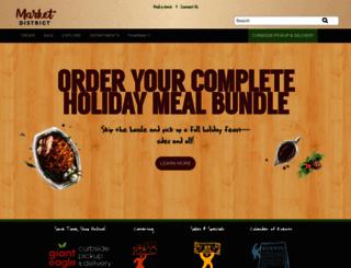 order.marketdistrict.com screenshot
