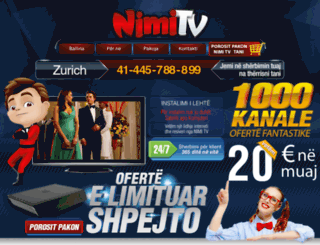 order.nimitv.com screenshot