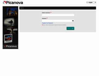 order.picanova.com screenshot