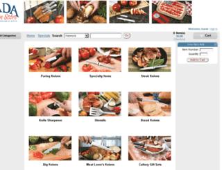 order.radakitchenstore.com screenshot