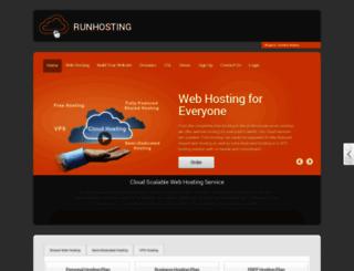 order.runhosting.com screenshot