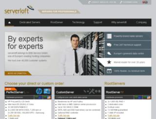 order.serverloft.eu screenshot