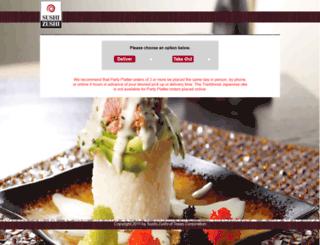 order.sushizushi.com screenshot