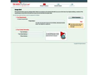 order.thelogoboutique.com screenshot