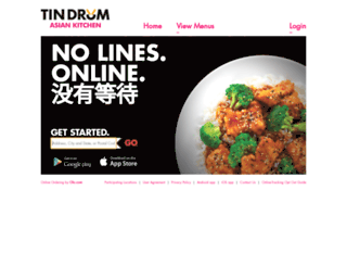 order.tindrumcafe.com screenshot