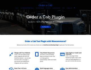 orderacab.co.uk screenshot