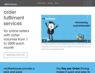 orderfulfilment.co.uk screenshot