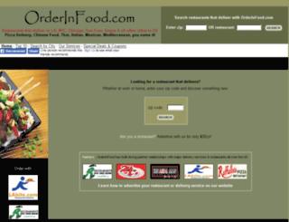 orderinfood.com screenshot