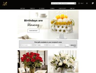 ordering.ftd.com screenshot