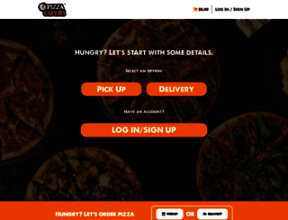 ordering.pizzacapers.com.au screenshot