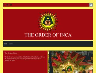 orderofinca.com screenshot