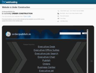 orderpublish.in screenshot