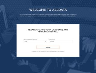 orders.alldata.com screenshot