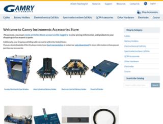 orders.gamry.com screenshot