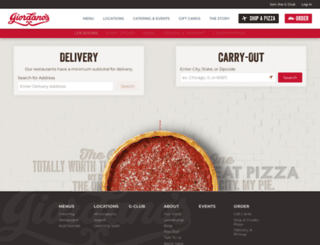 orders.giordanos.com screenshot