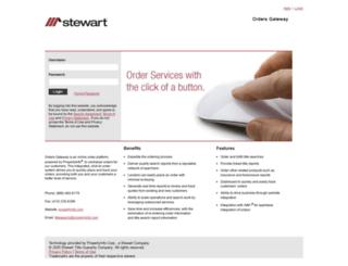 orders.propertyinfo.com screenshot