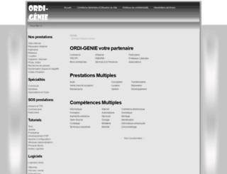 ordi-genie.com screenshot