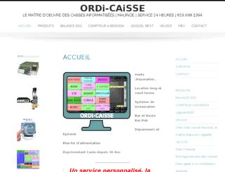 ordicaisse.com screenshot