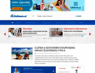 ordinace.cz screenshot