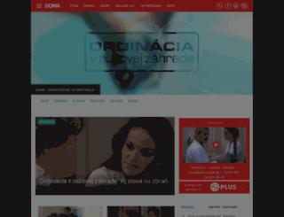 ordinacia.markiza.sk screenshot