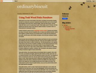 ordinarybiscuit.blogspot.com screenshot