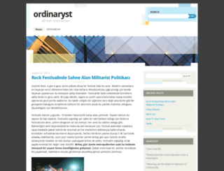 ordinaryst.wordpress.com screenshot