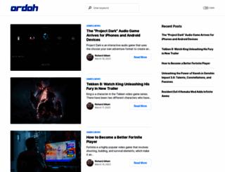 ordoh.com screenshot