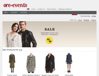 ore-events.co.uk screenshot